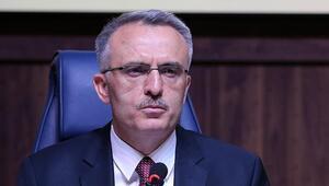 Naci Ağbal: Devam eden projelerin tutarı yaklaşık 1 trilyon lira