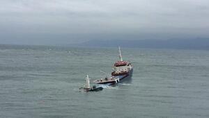 Marmara Adasında yük gemisi karaya oturdu, 6 kişi kurtarıldı