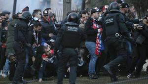 Barselonada taraftar kavgasında 5 Fransız gözaltında