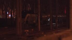 Ankarada yük treninin vagonları raydan çıktı