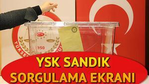 Nerede oy kullanacağım Yerel seçimlerde hangi sandıkta oy kullanacağım