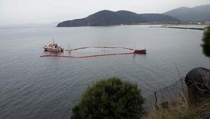 Marmara Adasında karaya oturan yük gemisi, tamamen battı