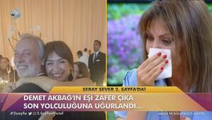 Seray Sever'in gözyaşları…