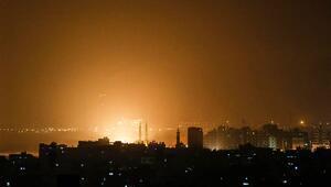 İsrail Ordusu Gazzede 100 hedefi vurdu