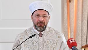 Diyanet İşleri Başkanı Ali Erbaş: Camilere vahşice saldırıyı şiddetle lanetliyorum