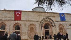 Kızıltepedeki tarihi Ulu Camii ibadete açıldı
