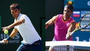 Indian Wellste erken final Federer ile Nadal...