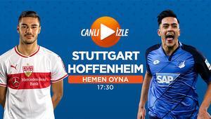 Hoffenheim, Ozan Kabaklı Stuttgarta konuk oluyor Misli.comda CANLI...