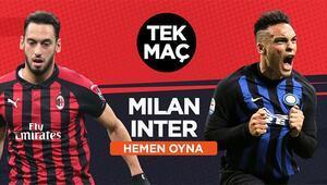 Milano Derbisi, iddaada TEK MAÇ Misli.comda fırsat...