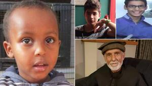 Babasıyla camiye giden 3 yaşındaki çocuk da terörün hedefi oldu
