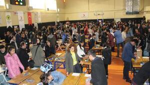 Cizrede 200 lise öğrencisi puzzle yaptı