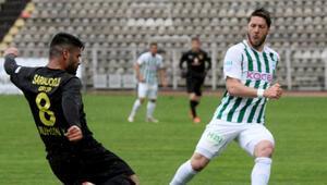 Giresunspor ile İstanbulspor yenişemedi