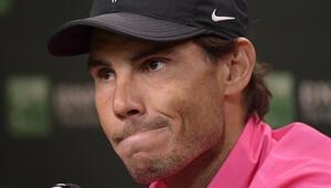 Nadal, Indian Wellsten çekildi