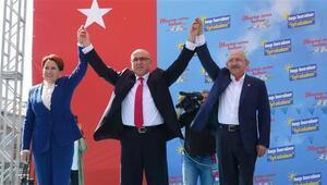 Kılıçdaroğlu ve Akşenerden ortak miting