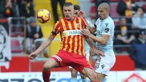 Kayserispor 1-1 Medipol Başakşehir