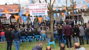 Bakan Varank Batmanda seçim bürosu açılışına katıldı