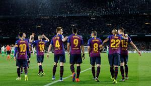 Messili Barcelona şampiyonluk yarışında farkı açtı
