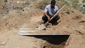 Musulda toplu mezar bulundu
