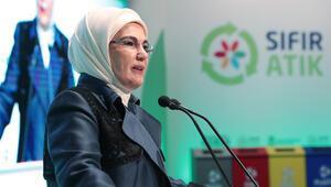 Emine Erdoğan: Bir pamuklu tişörtün üretilmesi için 2 bin 700 litre su harcandığını biliyor musunuz