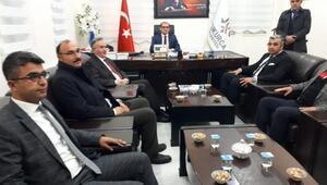 MHPli Akçay Çukurcayı ziyaret etti