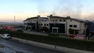 Son dakika: Arnavutköydeki fabrika yangını tamamen söndürüldü