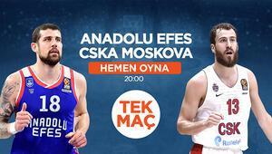 Anadolu Efes - CSKA Moskova maçında MBS1 fırsatı iddaada banko...