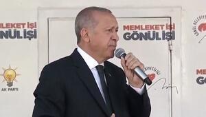 Cumhurbaşkanı Erdoğan'dan Sakarya'da önemli mesajlar