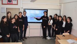 Liselilerden interaktif yazım kılavuzu