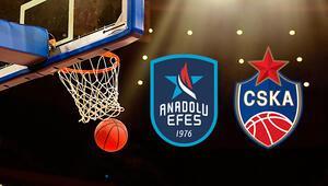 Anadolu Efes CSKA Moskova basket maçı ne zaman saat kaçta hangi kanalda 6 yıldır yenemiyor