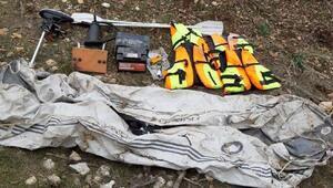 PKKlı teröristlere ait bot ele geçirildi