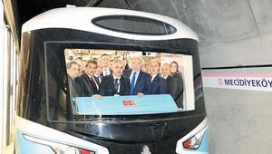 Sürücüsüz metro testleri başladı
