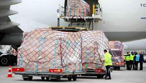 Turkish Cargo, sarayın eserlerini Japonyaya taşıdı