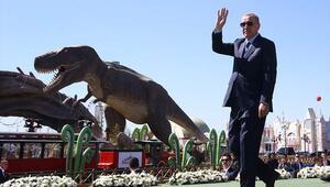 Cumhurbaşkanı Erdoğan Ankapark'ın açılışını yaptı