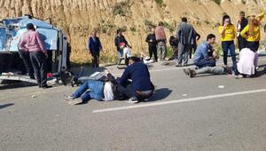 Adanada 15 kişinin yaralandığı kazada can pazarı