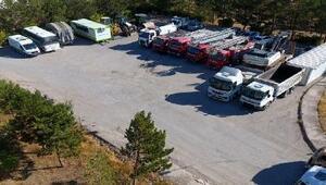 Kangalda belediye araç parkına 8 milyon liralık yatırım