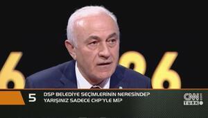 DSP Belediye seçimlerinin neresinde Yarışınız sadece CHPyle mi