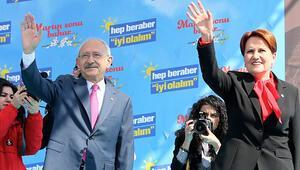 Kılıçdaroğlu ve Akşenerden Kocaelide ortak miting