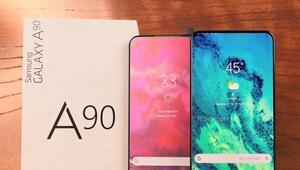 Samsung Galaxy A90 görünümüyle şaşırtıyor