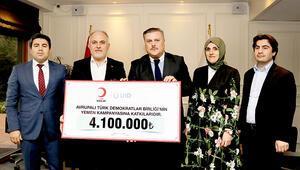 Gurbetçilerden Yemen'e 4.1 milyon TL'lik yardım