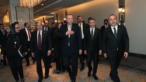 Cumhurbaşkanı Erdoğan Yeni Zelanda heyetini kabul etti