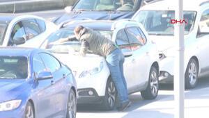 İstanbulda cam silicilerine yapılan polis operasyonu kamerada