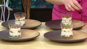 Muhallebi nasıl yapılır Elmalı fındıklı muhallebi tarifi