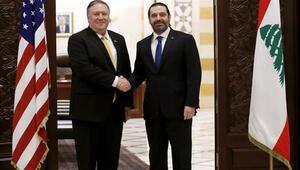 ABD Dışişleri Bakanı Pompeo Lübnanda