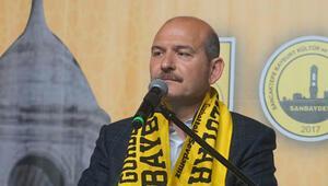 Bakan Soylu: Aponun yeğeni kapı kapı Saadet Partisinin kazanması için çalışmaktadır