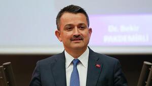 Bakan Pakdemirli: Türkiye tarımsal hasılada Avrupada birinci