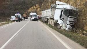 Orduda trafik kazası: 8 yaralı