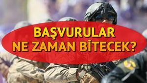 MSB Kara Kuvvetleri Komutanlığına uzman çavuş alımı yapıyor Uzman erbaş alımı başvuruları ne zaman bitecek