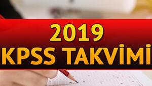 2019 KPSS başvuruları ne zaman Geri sayım başladı
