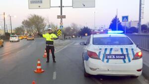 İstanbul'da bugün miting nedeniyle bazı yollar trafiğe kapatıldı