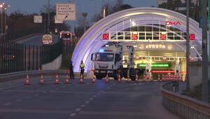 Cumhur İttifakı mitingi nedeniyle Avrasya Tüneli ve bazı yollar trafiğe kapatıldı